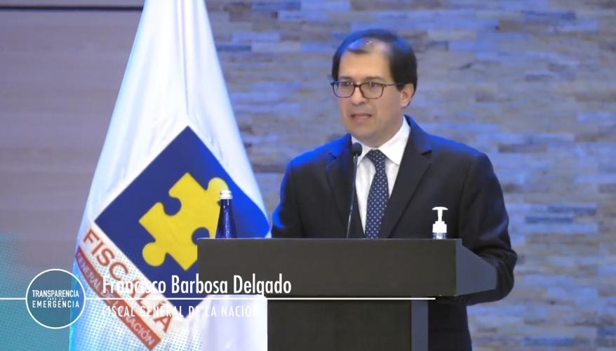 Fiscal General, Francisco Barbosa