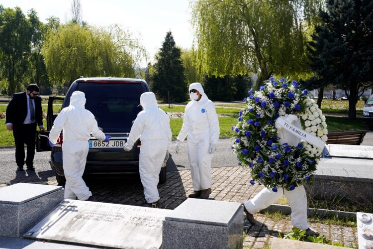 Sepelios inhumanos durante la pandemia