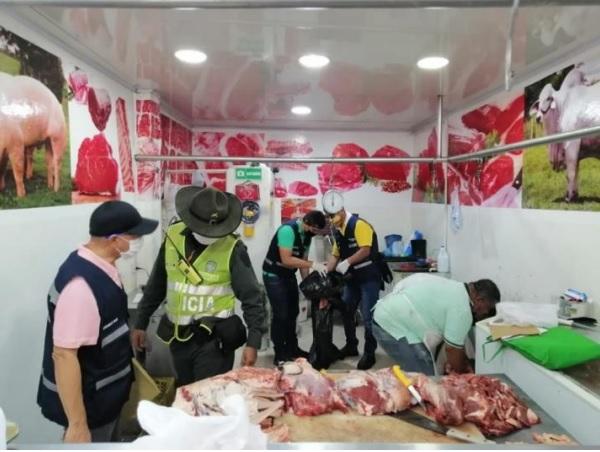 Nuevo decomiso de 60 kilos de carne dañada